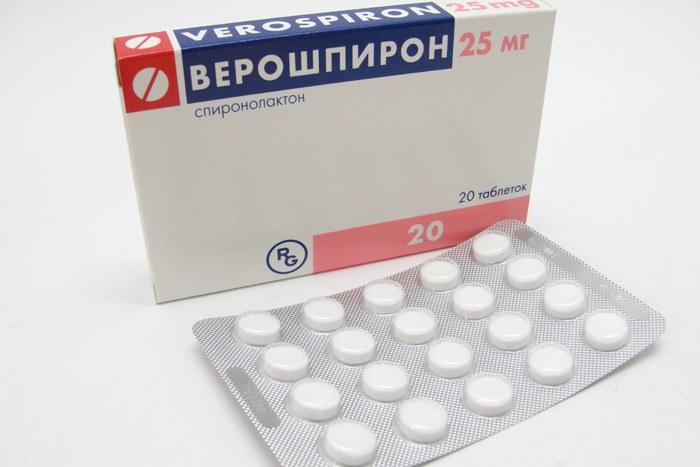 Таблетки верошпирон инструкция